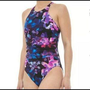 NWT Miraclesuit Magicsuit Danika Swimsuit Purple 8